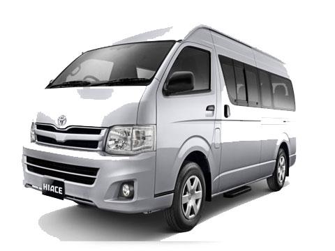 Rental Mobil Toyota HAICE